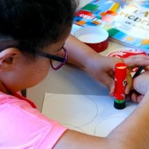 Espace de créativités pour enfants et adultes.