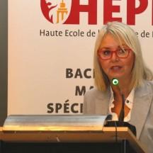 Muriel Brodure-Willain, Députée provinciale de l'Enseignement