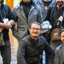 David Levy et des membres de l'équipe organisatrice