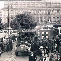 Libération de Liège-Place Saint-Lambert