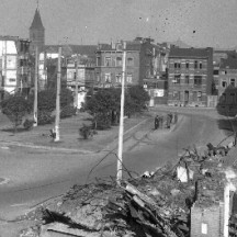 Libération de Liège-quartier Hocheporte
