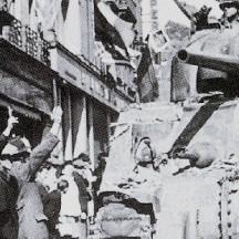 Libération de Liège-En face du Palais