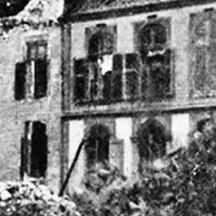 Trooz-Le château de Forêt après le massacre