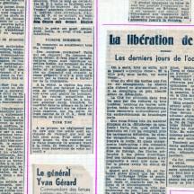 Vendredi 8 septembre 1944, la Libération