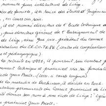 Claudine Boets, fille de Jean Boets