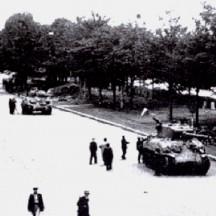 Befreiung des Liège-Quai des Ardennes