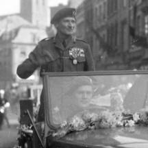 Lüttich-Besuch von Marschall Montgomery-1946