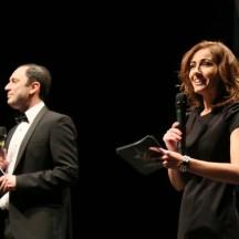 Anne Ruwet et Emiliano Bonfligli aux commandes de la cérémonie