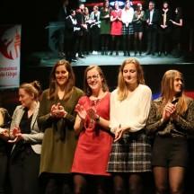 Liège Panthers reçoit le Trophée par équipe