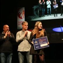 Amandine Verstappen reçoit le Trophée de l'espoir sportif