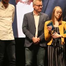 Tatyana Lebrun a reçu le Trophée pour moins valides
