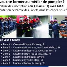 Remise des prix Cadets