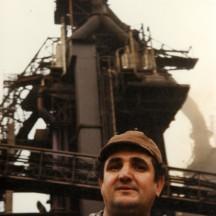 Ricardo Contreras, fondeur au HF6 de Seraing