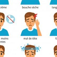Les symptômes de déshydratation