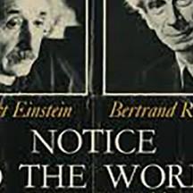 Notice pour le monde (Einstein - Russel)