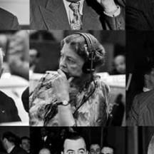 1948, rédacteurs de la DuDH