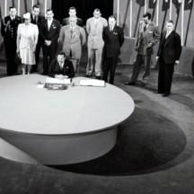 Signature de la Charte des Nations Unies, le 26 juin 1945