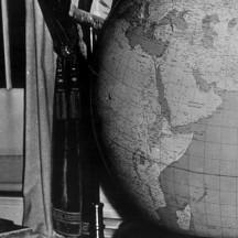 Roosevelt, ardent défenseur de la paix, rêve d'un autre monde