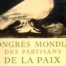 1949, la Colombe de Picasso sur l'affiche...