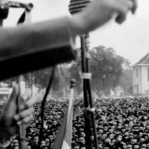Sukarno (1901-1970), homme politique indonésien