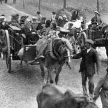 Réfugiés belges en 1914