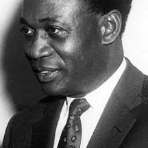 Kwame Nkrumah, (1909-1972), homme d'État indépendantiste