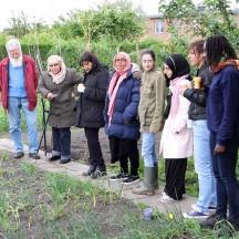 Formation pratique dans un jardin