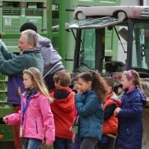 Visite de la ferme en tracteur
