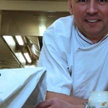 Stéphane Liban, chef cuisinier de l'EP Seraing