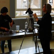 EP Huy: tournage de tutoriels pour les élèves cuisinier.e.s