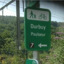 Knotenpunkt Durbuy - Poulseur