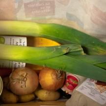 Distribution de paniers alimentaires solidaires à la HEPL