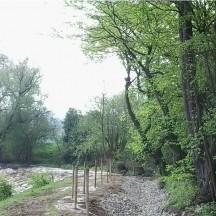 Ruisseau de Fierain - Remise à gabarit du lit pendant travau