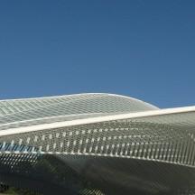 La gare de Liège Guillemins accueille aussi les expos ©P Fagnoul