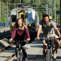 Voyagez grâce à « trains, vélos & paysages »