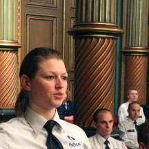 Ecole de Police, prestation de serment