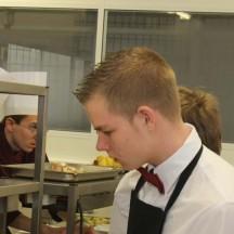 IPES Hesbaye, atelier cuisine et restaurant didactique