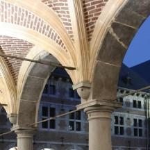 La cour du Musée de la Vie Wallonne
