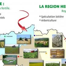 régions agricoles