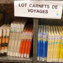 Lot Carnets de voyage