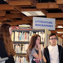 Bibliothèque Chiroux - Visites