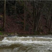 Ruisseau de Winamplanche - Passe à poisson en période de crue