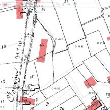 Superposition de l'Atlas primitif de la Voirie vicinale aux autr