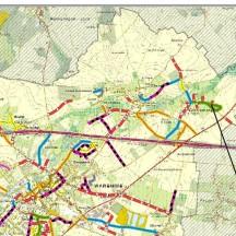 Stadt von Waremme - Verlauf der Straßenarbeiten - IGN