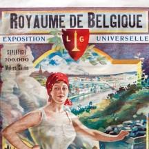 Affiche Exposition Universelle à Liège de 1905