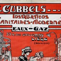Installations sanitaires modernes (eau et gaz) de F; Gubbels