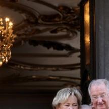 Le Roi Albert et la Reine Paola à Liège en 2013