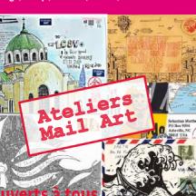 Participez aussi à nos ateliers Mail Art durant l'été