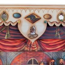 Castelet du Théâtre de marionnettes au Musée de la Vie wallonne