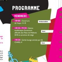 Fêtes de Wallonie 2018 en Province de Liège: ouverture à Engis